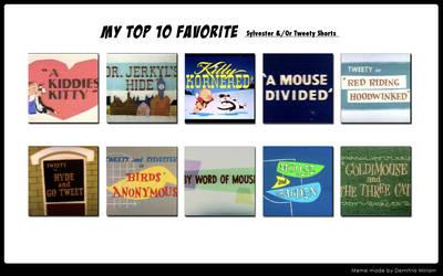My Top 10 Favorite Sylvester/Tweety Shorts by Dawalk86