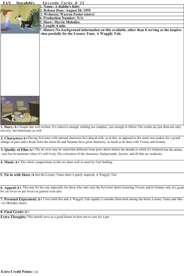 A Kiddie's Kitty Review by Dawalk86
