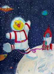 Ducks in Space by Frodo-Lion