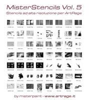 MisterStencil Pack 5 - ArtRage Stencils by Misterpaint