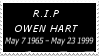 R.I.P Owen Hart Stamp by laprasking