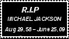 R.I.P Michael Jackson by laprasking