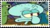 Squidward Tentacles Stamp by laprasking