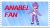 Anabel Fan Stamp by laprasking