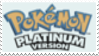 Pokemon Platinum Stamp by laprasking