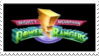 Retro MMPR Stamp by laprasking