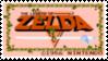 The Legend of Zelda Stamp by laprasking