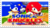 Sonic and Knuckles Stamp by laprasking