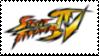 Street Fighter IV Stamp by laprasking
