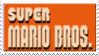 Super Mario Bros Stamp by laprasking