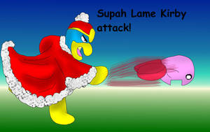 Supah lame kirby attack by kingofthedededes73