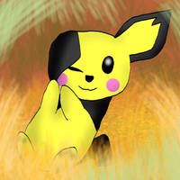 Pichu's safe space by kingofthedededes73