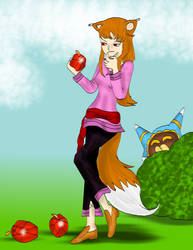 Suspicious gem apples by kingofthedededes73