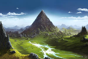 House under mountain by yar0