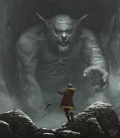 Mountain Troll by yar0