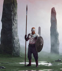 Guardian of Menhirs by yar0