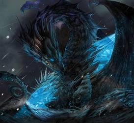 BanQ Sapphire Dragon by BanQ1 by dragon-one-graphics