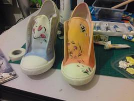 Okami Shoes by Asha-Ketchum