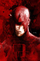 Daredevil Cover by LeonardoEnrique
