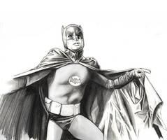Batman Adam West by LeonardoEnrique