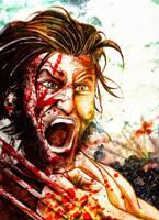 Wolverine rampage by LeonardoEnrique