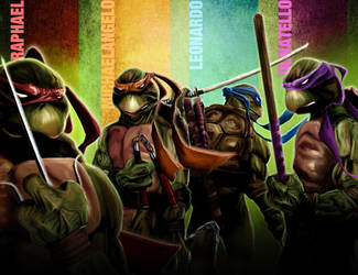 BA Teenage Mutant Ninja Turtles by LeonardoEnrique
