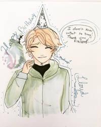 Happy (late) Birthday Lloyd! by Moofuupi