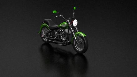 Harley Davidson Fat Boy by scardi48