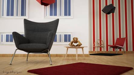 Wing Chair Corner by KRYPT06