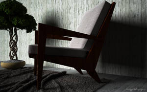 Boomerang chair inspiration by KRYPT06