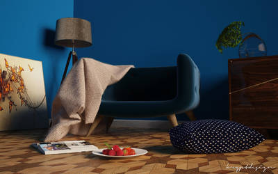 Blue corner by KRYPT06