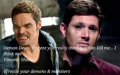 Demon Dean vs Vincent Keller by hgsmith98