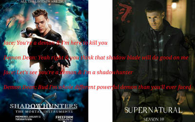 Jace Wayland vs Demon Dean by hgsmith98