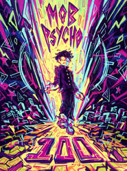 Mob Psycho 100 by Slitherbot