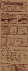 Hourly Comic Day 2019 by Slitherbot
