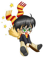 Chibi Harry Potter by ChibiTaryn