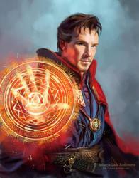 Doctor Strange by ladunya