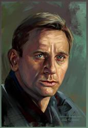 Daniel Craig by ladunya