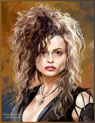 Bellatrix Lestrange by ladunya