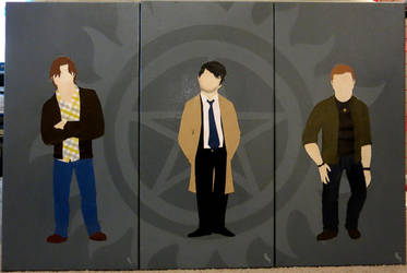 Supernatural Boys, 1 by angermuffin