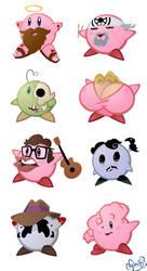 So Many Kirbys by WonderDookie