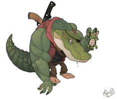Leatherhead by WonderDookie