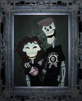 Halloween Portrait by WonderDookie