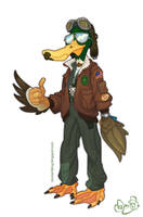Ace Duck by WonderDookie