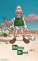 Baking Bread by WonderDookie