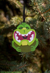 Tiki Slimer Cut-Out: For Sale by WonderDookie