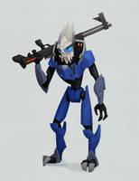 Mass Effect: Garrus Vakarian by WonderDookie