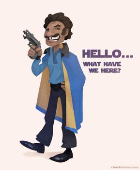 Lando Calrissian by WonderDookie