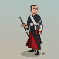 C is for Star Wars (Chirrut Imwe) by WonderDookie