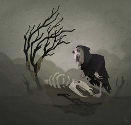Bog Witch by WonderDookie